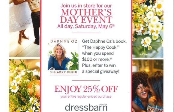 dressbarn Mother's Day Sale Event on Saturday May 6th