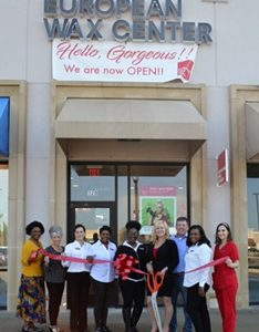 European Wax Center Ribbon Cutting Ceremony!